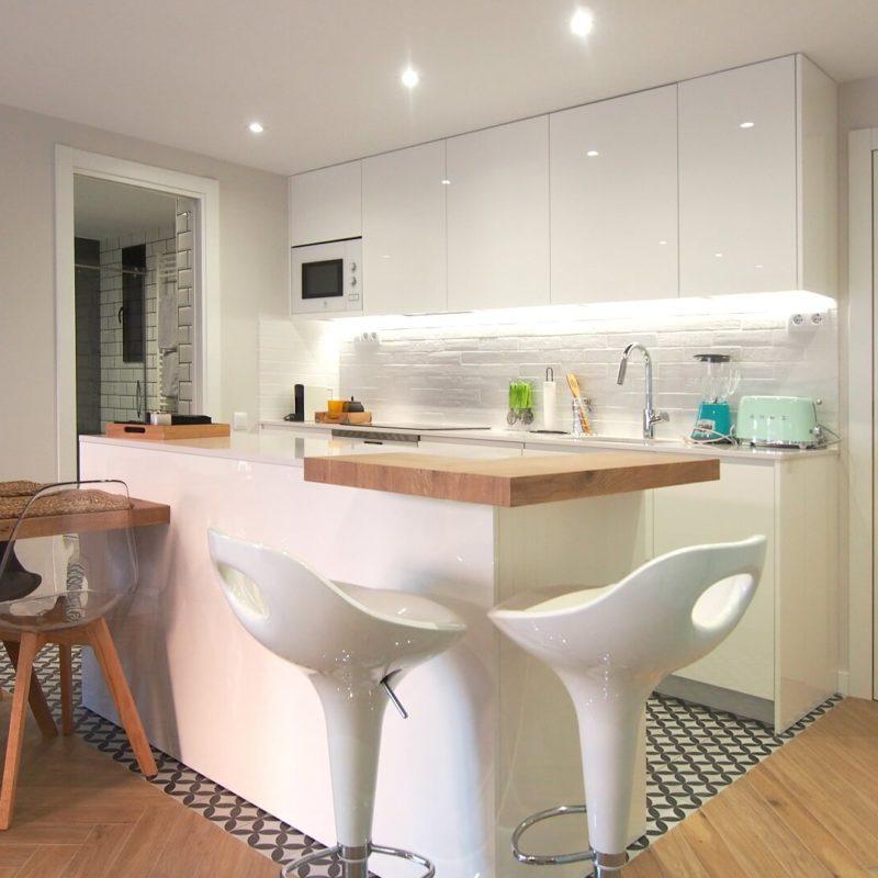 Reforma vivienda Rubí cocina comedor
