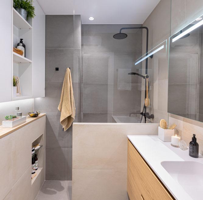 Reforma pequeño baño en Barcelona