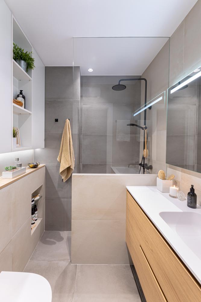 Reforma pequeño baño en Barcelona.